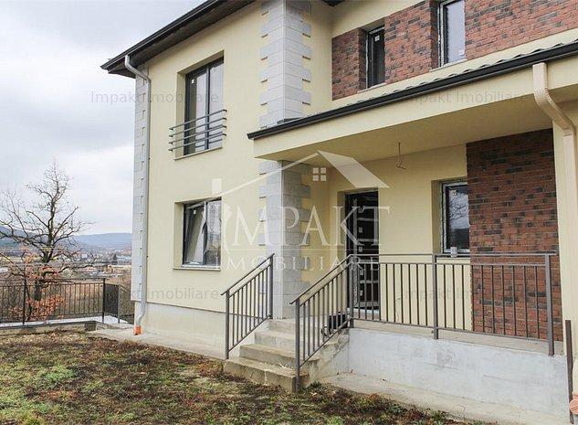 Duplex semifinisat 5 camere Grigorescu, gradina de 250 mp - imaginea 1