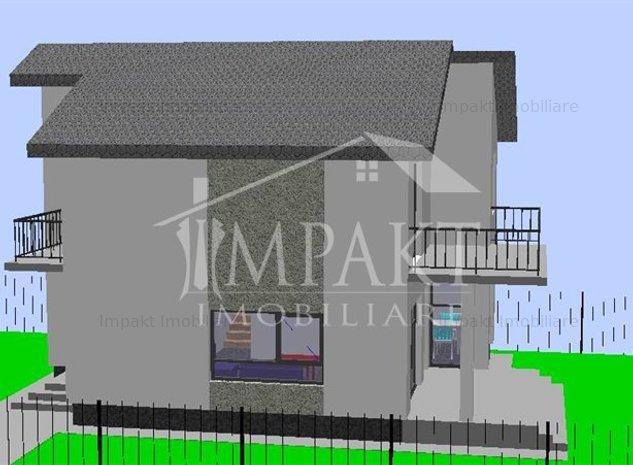 Casa individuala semifinisata in Feleac. - imaginea 1