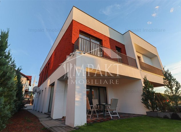 Duplex cu 4 camere cu gradina in zona cu acces facil. - imaginea 1
