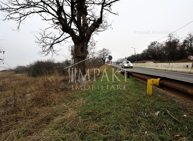 TEREN pt. constructie de reprezentante,hale, 2222 mp, Calea Turzii ! - imaginea 1