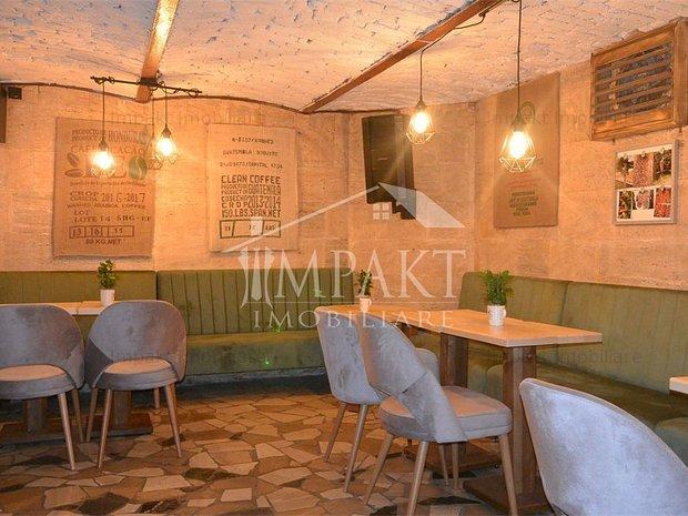 Spatiu comercial ideal cafenea, 75 mp, Semicentral - imaginea 1