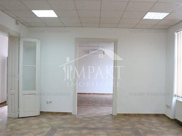 Spatiu de birouri 4 camere , 108 mp, zona Centrala  - imaginea 1