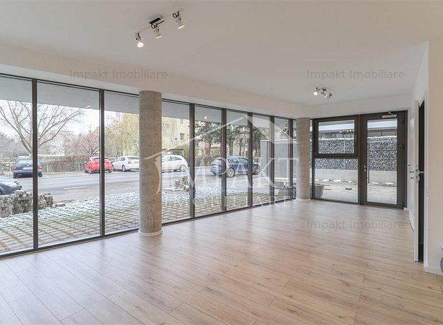 Spatiu comercial Gheorgheni cu vitrina, 100 mp - imaginea 1