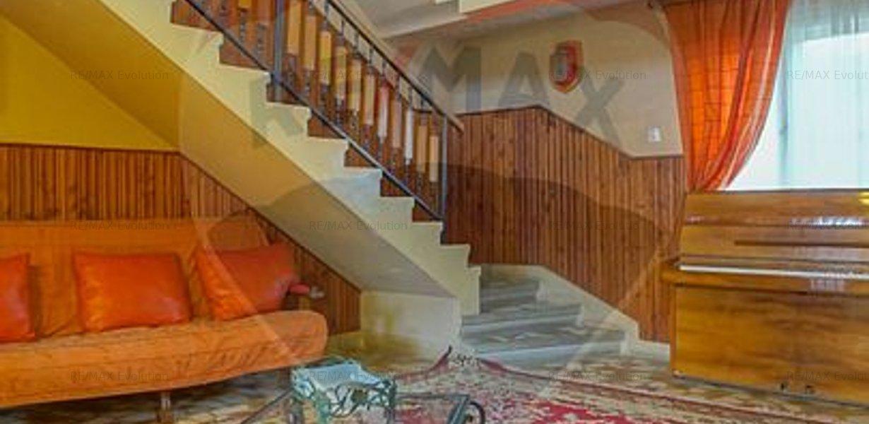 COMISION 0%! Casa spatioasa 7 camere, 956 mp teren si atelier, Sacele - imaginea 4