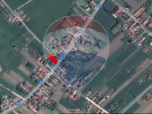 Teren intravilat, 1328 mp, Podu Olt - imaginea 1