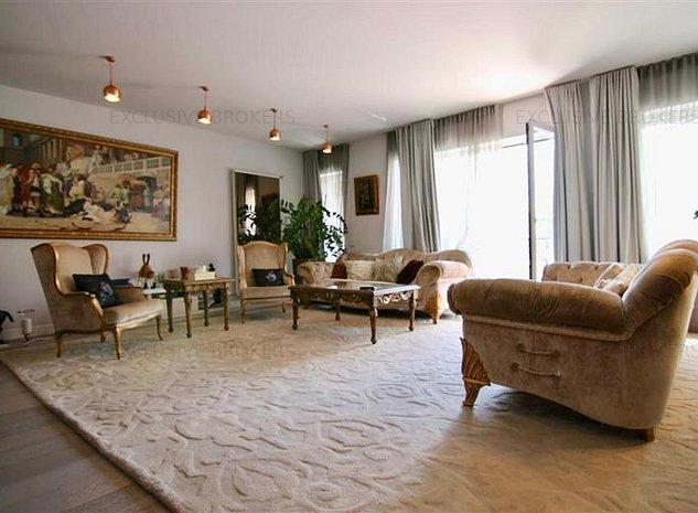 Apartament superb Aviatiei-Herastrau|174 mp utili| Vedere Lac Floreasca| - imaginea 1