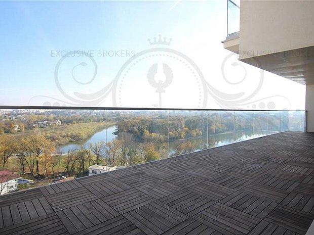 Penthouse de exceptie One Herastrau Park! Amazing view! - imaginea 1