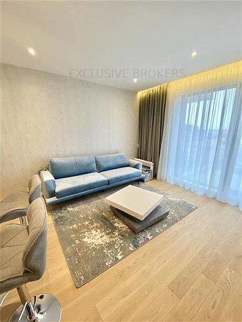 First use| 2 rooms| One Herastrau Plaza| Underground parking| - imaginea 1