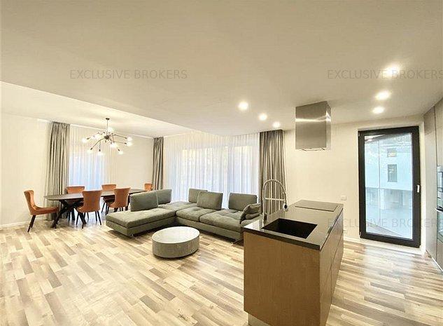 3 rooms luxury apartment|One Herastrau Park| 2 parkings| - imaginea 1