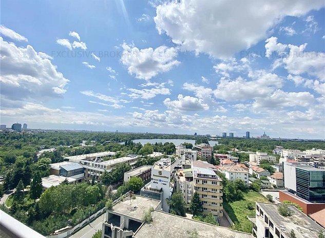 One Herastrau Park, vedere panoramica!Mobilat si utilat Lux! - imaginea 1