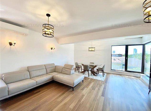 First rent| 3 rooms Dorobanti-Capitale |Panoramic View| - imaginea 1