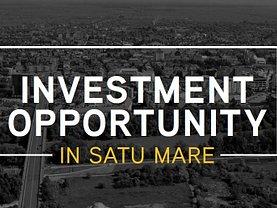 Vânzare teren investiţii în Satu Mare, Nord