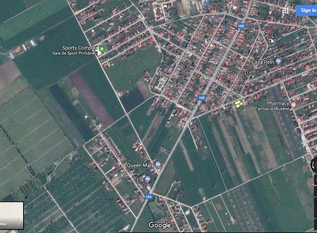 De vanzare teren Brasov zona Sanpetru - imaginea 1