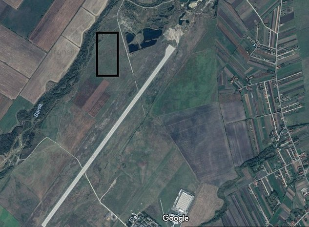 De vanzare teren aeroport Ghimbav 7euro/mp - imaginea 1