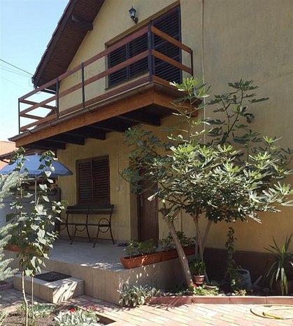 Casa individuala zona Dorobanti  200mp construit 100mp amprenta pe sol 150mp uti - imaginea 1
