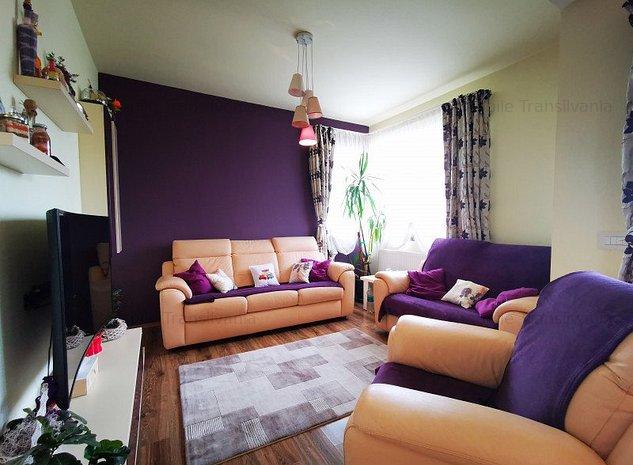 Apartament 4 camere cu scara intrerioara ,114mp, Floresti - imaginea 1