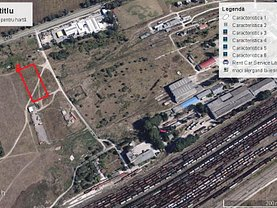 Teren constructii de vânzare sau de închiriat, în Constanta, zona I. C. Bratianu