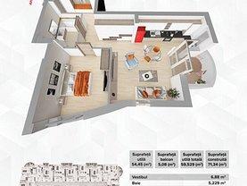 Apartament de vânzare 2 camere în Oradea, Decebal