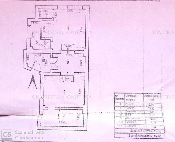 Vanzare apartament in vila zona Tineretului - imaginea 1