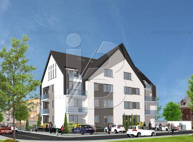 Apartament 3 camere - 70mp - bloc 2019 Otopeni - imaginea 1