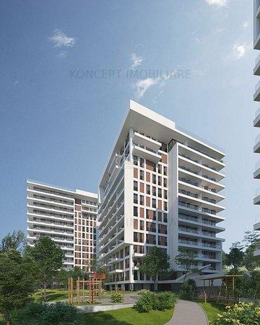 Apartamente 3 camere in ansamblu rezidential premium in Zorilor - imaginea 1