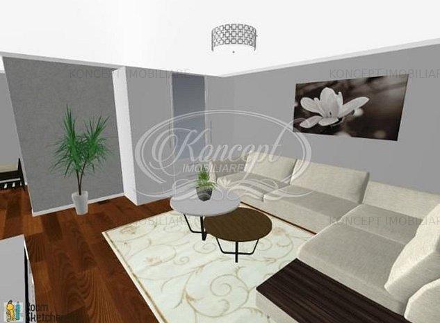 Apartament 3 camere, Borhanci - imaginea 1