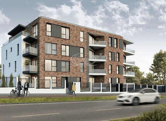Apartament cu gradina intr-un ansamblu Premium - imaginea 1