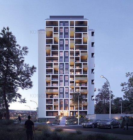 Apartament 3 camera in ansamblu premium Zorilor - imaginea 1