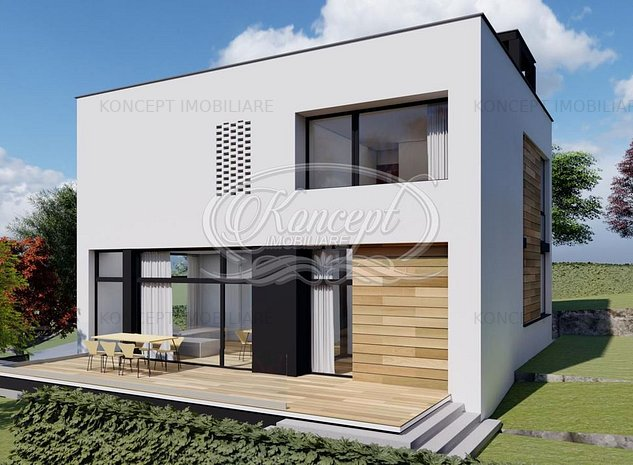 Casa deosebita cu 5 camere si rooftop panoramic - imaginea 1