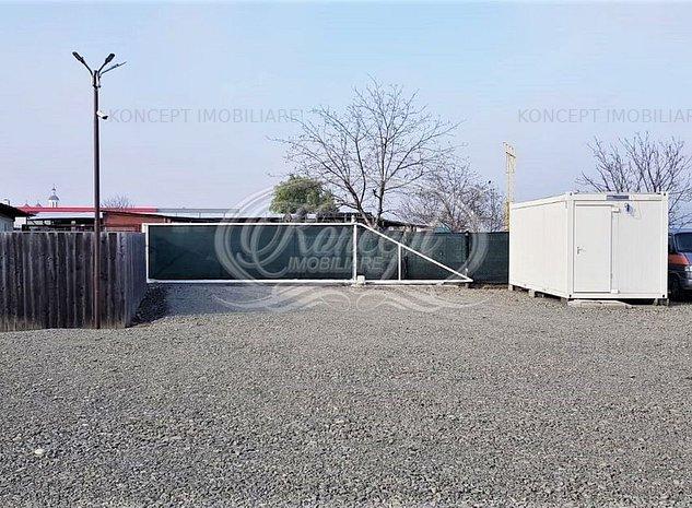 Teren pentru parcari, cu container birou, zona Ambient - imaginea 1