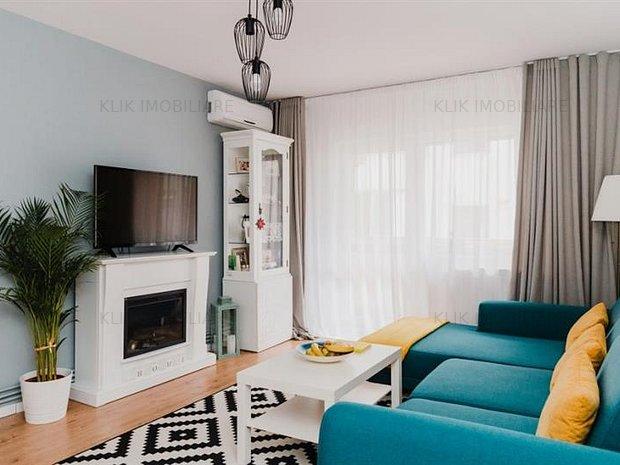 Apartament cu 3 camere ultrafinisat in Marasti, etaj 1 ! - imaginea 1