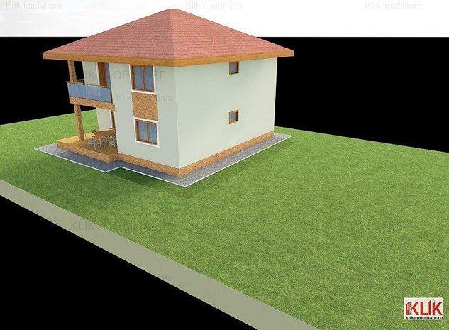 Teren intravilan cu proiect casa in curs de autorizare langa viitorul Aqua ParK - imaginea 1