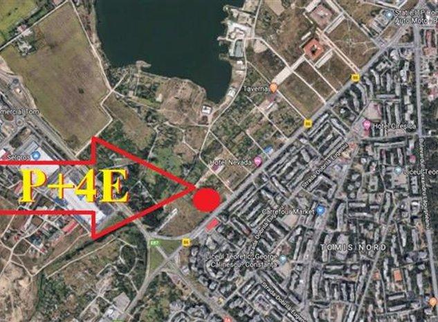 Constanta. Campus. Teren 625mp. PUZ P+4! - imaginea 1
