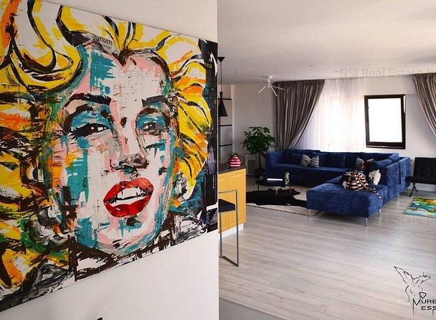 Penthouse Green Vista Pipera - intreg etajul - imaginea 1