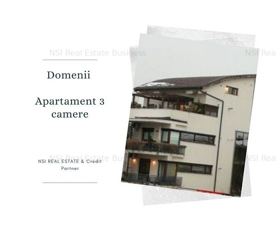 Domenii apartament 3 camere 120 MP - imaginea 1