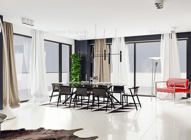 Pinastrelli PENTHOUSE ** 3 terase + gradina ** 395  mp **  - acum de vanzare - imaginea 1