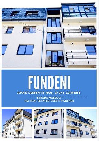 Apartament 2 camere in bloc nou I loc de parcare I Fundeni - imaginea 1