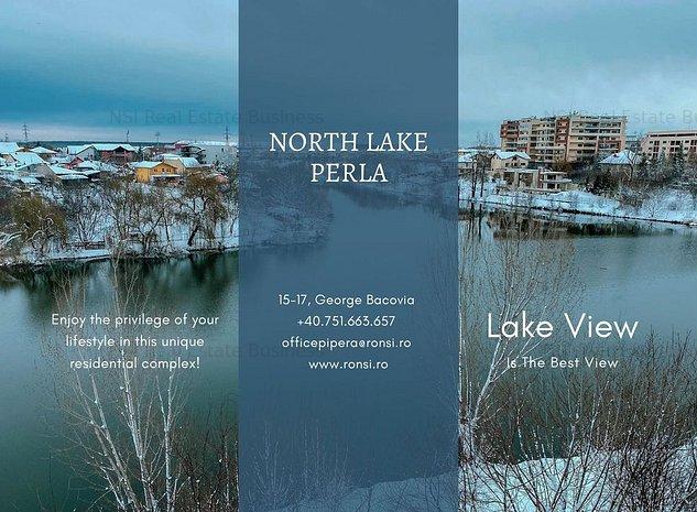 North Lake Perla    2 Rooms For sale!    Direct dezvoltator    Comision 0% - imaginea 1