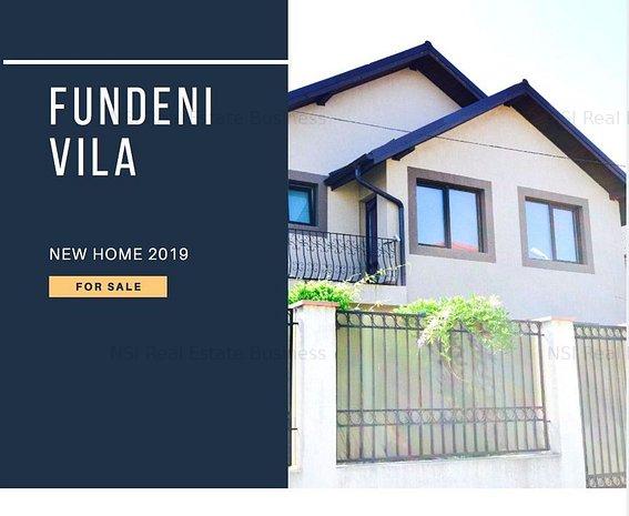 Casa / Vila noua cu 4 camere I finisaje moderne I Fundeni - comision 0% - imaginea 1