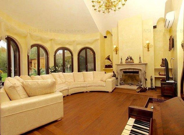 Casa Lux in stil rustic frantuzesc * Arhitectura unica * Corbeanca - imaginea 1