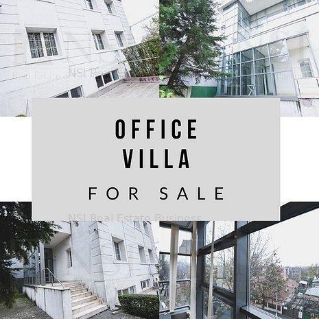 Vila 14 camere cu destinatie de birou || Baneasa * 644 mp teren - imaginea 1
