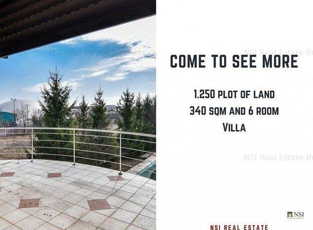 Pipera**340 sqm and 6 room villa**1.255 plot of land**swimming pool - imaginea 1