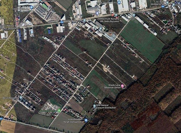 Lot teren // 250mp // Pantelimon, Bd Biruintei - imaginea 1