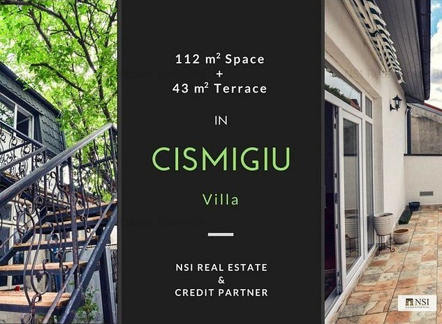 Etaj nou construit in vila | Birou/Rezidential || Cismigiu - imaginea 1