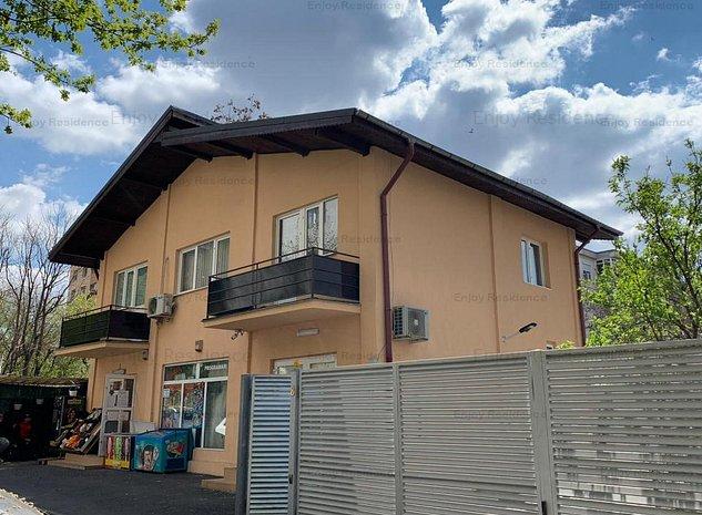 Vila 200 mp cu spatii comerciale la parter, Berceni langa metrou, curte 220 mp - imaginea 1