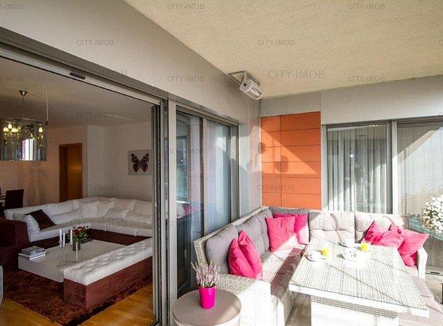 Se vinde Apartament 4 CAMERE Mobilat lux BANEASA - imaginea 1