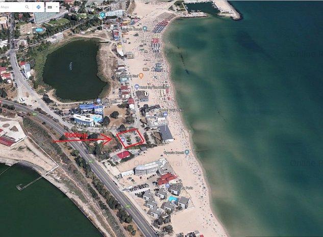 Teren Eforie Nord 500mp Plaja Belona 10m de mare - imaginea 1