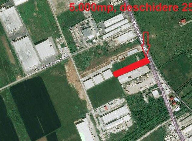 Teren industrial Centura Bucuresti - imaginea 1