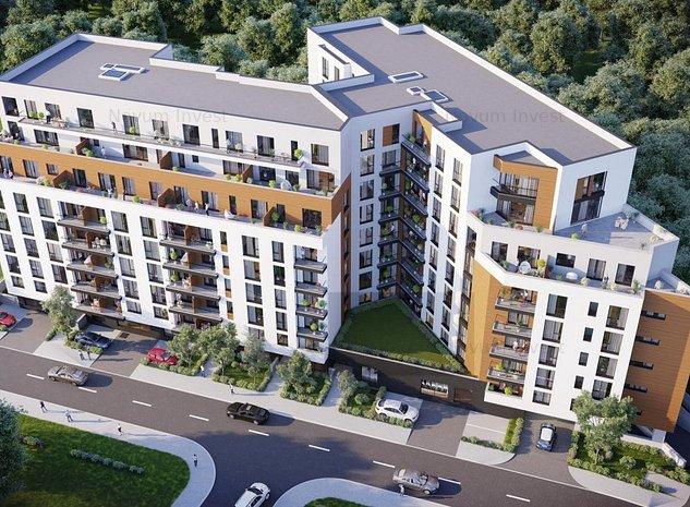 Penthouse 2 nivele vedere Parcul Politehnicii - imaginea 1