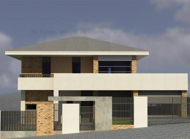Vand casa INDIVIDUALA  180mp UTIL  TEREN 450 mp  Vedere Panoramica  Comision 0% - imaginea 1